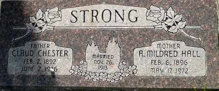 STRONG, A. MILDRED - Utah County, Utah | A. MILDRED STRONG - Utah Gravestone Photos