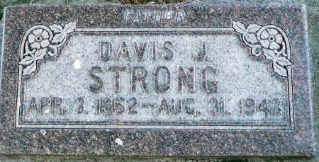 STRONG, DAVIS J. - Utah County, Utah | DAVIS J. STRONG - Utah Gravestone Photos