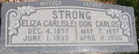 STRONG, DON CARLOS - Utah County, Utah | DON CARLOS STRONG - Utah Gravestone Photos