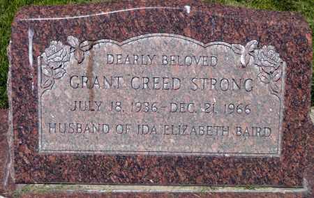 STRONG, GRANT CREED - Utah County, Utah   GRANT CREED STRONG - Utah Gravestone Photos