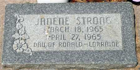 STRONG, JANENE - Utah County, Utah   JANENE STRONG - Utah Gravestone Photos