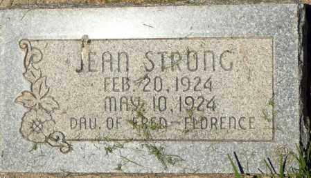 STRONG, JEAN - Utah County, Utah | JEAN STRONG - Utah Gravestone Photos