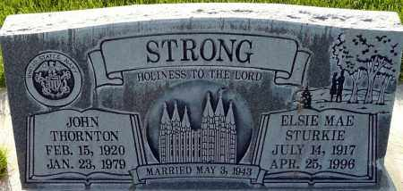 STRONG, JOHN THORNTON - Utah County, Utah | JOHN THORNTON STRONG - Utah Gravestone Photos