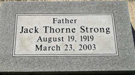 STRONG, JACK THORNE - Utah County, Utah | JACK THORNE STRONG - Utah Gravestone Photos