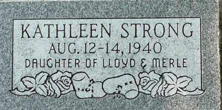 STRONG, KATHLEEN - Utah County, Utah | KATHLEEN STRONG - Utah Gravestone Photos