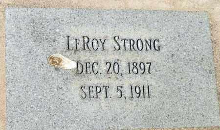 STRONG, LEROY - Utah County, Utah   LEROY STRONG - Utah Gravestone Photos
