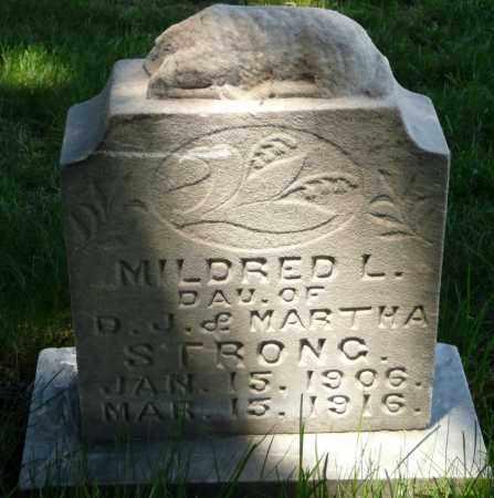 STRONG, MILDRED LA PREAL - Utah County, Utah | MILDRED LA PREAL STRONG - Utah Gravestone Photos