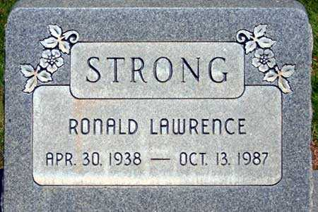 STRONG, RONALD LAWRENCE - Utah County, Utah | RONALD LAWRENCE STRONG - Utah Gravestone Photos