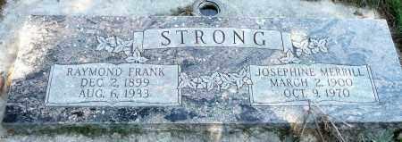 STRONG, JOSEPHINE - Utah County, Utah | JOSEPHINE STRONG - Utah Gravestone Photos