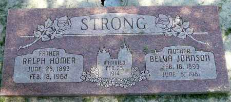 STRONG, RALPH HOMER - Utah County, Utah | RALPH HOMER STRONG - Utah Gravestone Photos