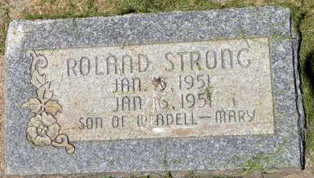 STRONG, ROLAND - Utah County, Utah | ROLAND STRONG - Utah Gravestone Photos
