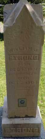 STRONG, WILLIAM JOHNSON - Utah County, Utah   WILLIAM JOHNSON STRONG - Utah Gravestone Photos