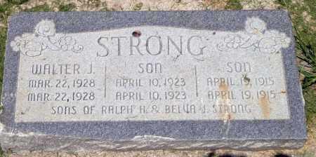 STRONG, WALTER JOHNSON - Utah County, Utah | WALTER JOHNSON STRONG - Utah Gravestone Photos