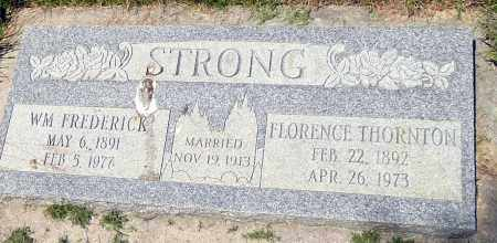 STRONG, WILLIAM FREDERICK - Utah County, Utah | WILLIAM FREDERICK STRONG - Utah Gravestone Photos