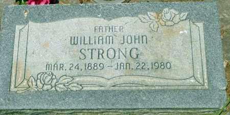 STRONG, WILLIAM JOHN - Utah County, Utah | WILLIAM JOHN STRONG - Utah Gravestone Photos