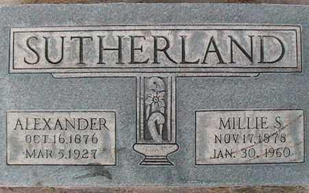 SUTHERLAND, MILLICENT MAY - Utah County, Utah | MILLICENT MAY SUTHERLAND - Utah Gravestone Photos
