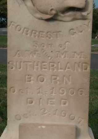 SUTHERLAND, FORREST GUY - Utah County, Utah | FORREST GUY SUTHERLAND - Utah Gravestone Photos