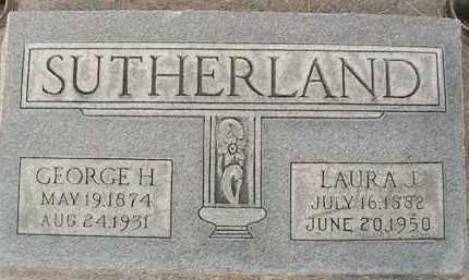 SUTHERLAND, GEORGE HERBERT - Utah County, Utah | GEORGE HERBERT SUTHERLAND - Utah Gravestone Photos