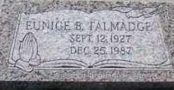 B. TALMADGE, EUNICE - Utah County, Utah | EUNICE B. TALMADGE - Utah Gravestone Photos