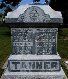 TANNER, WILLIAM SMITH - Utah County, Utah | WILLIAM SMITH TANNER - Utah Gravestone Photos