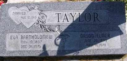 TAYOR, ORSON ELMER - Utah County, Utah   ORSON ELMER TAYOR - Utah Gravestone Photos