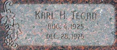 TEGAN, KARL HERMAN - Utah County, Utah   KARL HERMAN TEGAN - Utah Gravestone Photos