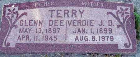 TERRY, GLENN DEE - Utah County, Utah   GLENN DEE TERRY - Utah Gravestone Photos
