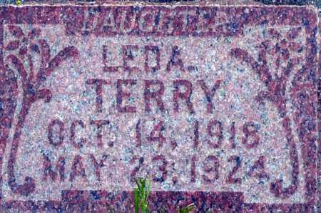 TERRY, LEDA - Utah County, Utah | LEDA TERRY - Utah Gravestone Photos
