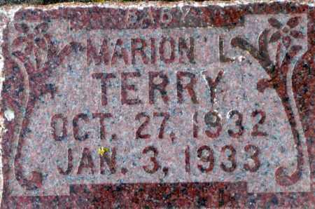 TERRY, MARION L. - Utah County, Utah | MARION L. TERRY - Utah Gravestone Photos