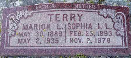 TERRY, MARION L. - Utah County, Utah   MARION L. TERRY - Utah Gravestone Photos