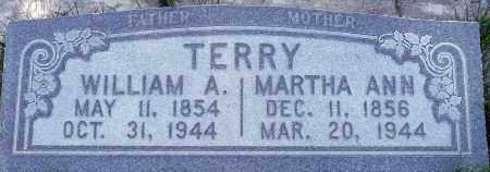 TERRY, MARTHA ANN - Utah County, Utah | MARTHA ANN TERRY - Utah Gravestone Photos