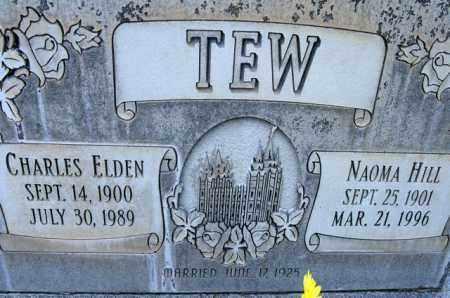 TEW, NAOMA - Utah County, Utah | NAOMA TEW - Utah Gravestone Photos