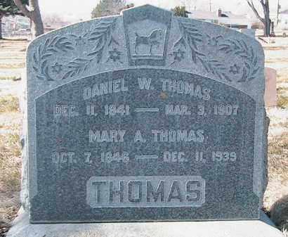 THOMAS, DANIEL WIGHT - Utah County, Utah | DANIEL WIGHT THOMAS - Utah Gravestone Photos