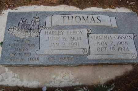 THOMAS, HARLEY LEROY - Utah County, Utah | HARLEY LEROY THOMAS - Utah Gravestone Photos