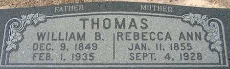 THOMAS, WILLIAM BONA - Utah County, Utah | WILLIAM BONA THOMAS - Utah Gravestone Photos