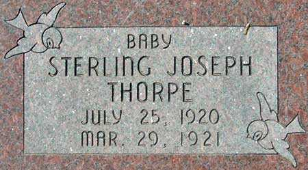 THORPE, STERLING JOSEPH - Utah County, Utah   STERLING JOSEPH THORPE - Utah Gravestone Photos