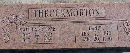 COOPER, MATILDA - Utah County, Utah   MATILDA COOPER - Utah Gravestone Photos