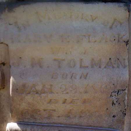 TOLMAN, MARY EMMA - Utah County, Utah | MARY EMMA TOLMAN - Utah Gravestone Photos