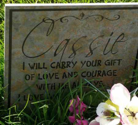 UNKNOWN, CASSIE - Utah County, Utah | CASSIE UNKNOWN - Utah Gravestone Photos