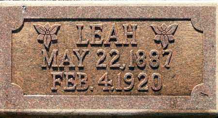 UNKNOWN, LEAH - Utah County, Utah | LEAH UNKNOWN - Utah Gravestone Photos