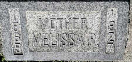 UNKNOWN, MELISSA R. - Utah County, Utah   MELISSA R. UNKNOWN - Utah Gravestone Photos