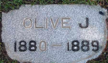 MCDANIEL, OLIVE J. - Utah County, Utah | OLIVE J. MCDANIEL - Utah Gravestone Photos