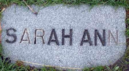 MCDANIEL, SARAH ANN - Utah County, Utah | SARAH ANN MCDANIEL - Utah Gravestone Photos