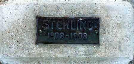 UNKNOWN, STERLING - Utah County, Utah   STERLING UNKNOWN - Utah Gravestone Photos