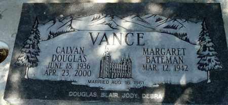 VANCE, MARGARET - Utah County, Utah   MARGARET VANCE - Utah Gravestone Photos