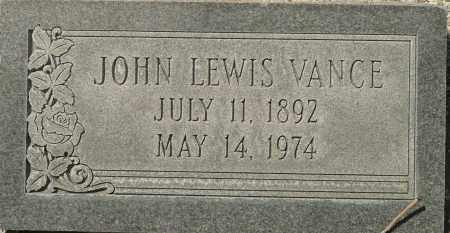 VANCE, JOHN LEWIS - Utah County, Utah | JOHN LEWIS VANCE - Utah Gravestone Photos