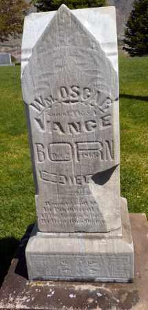 VANCE, WILLIAM OSCAR - Utah County, Utah | WILLIAM OSCAR VANCE - Utah Gravestone Photos