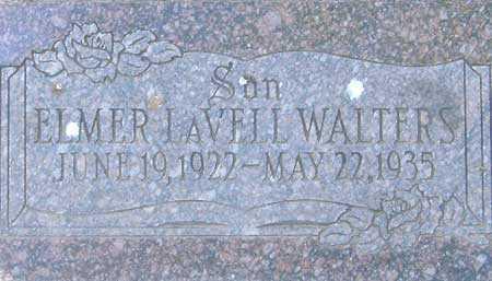 WALTERS, ELMER LA VELL - Utah County, Utah | ELMER LA VELL WALTERS - Utah Gravestone Photos