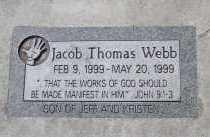 WEBB, JACOB THOMAS - Utah County, Utah | JACOB THOMAS WEBB - Utah Gravestone Photos