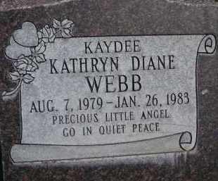 WEBB, KATHRYN DIANE - Utah County, Utah | KATHRYN DIANE WEBB - Utah Gravestone Photos